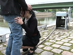Romany analfucked outdoor